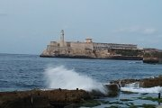 Morro lighthouse from the Malecon